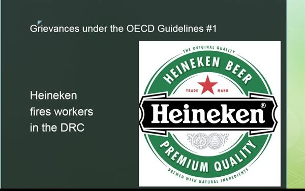 하이네켄은 왜 OECD 다국적기업 가이드라인 위반 지적을 받았나 다국적 기업의 윤리적 책임 관할권에 대한 해석이 본국에서 해외로 넓어지고 있다.