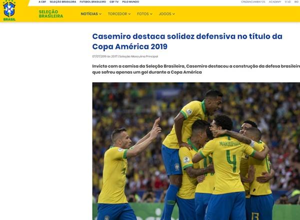 브라질 우승 브라질이 페루와의 코파 아메리카 결승전에서 3-1로 승리했다.