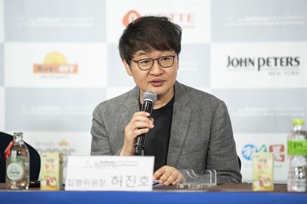 제천국제음악영화제 허진호 집행위원장
