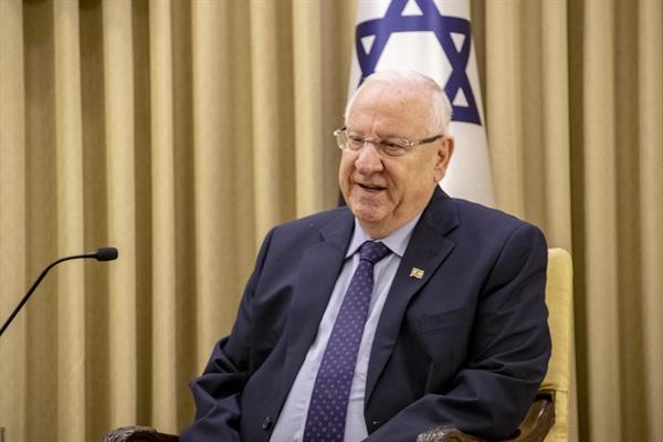 레우벤 리블린 이스라엘 대통령.