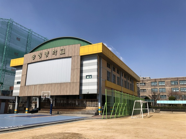 서울 강서구 소재 송정중학교