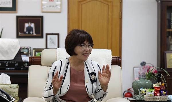 김선화 안양시의회 의장