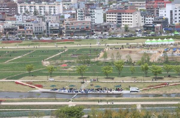 국가정원으로 지정된 울산 태화강 지방정원