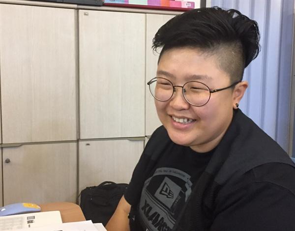 장승배기 사무실에서 만난 임종린 파리바게뜨지회장