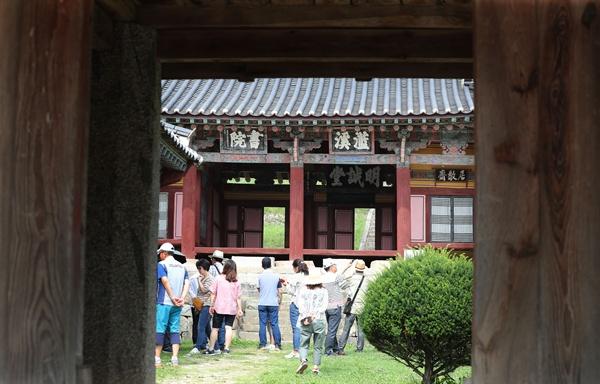 7월 13일 함양 수동면 남계서원.