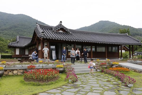 고산 윤선도 유물전시관 전경. 전라남도 해남군 해남읍 연동마을에 자리하고 있다.