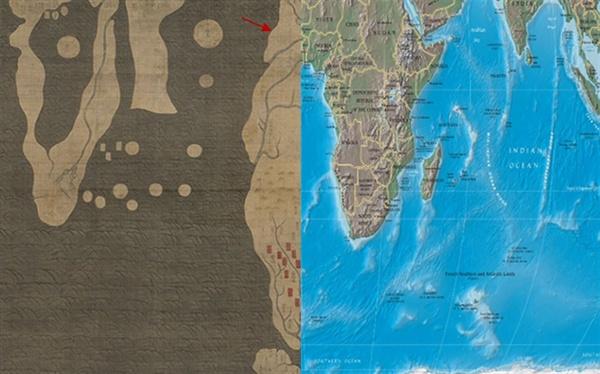 아프리카와 주변 해역