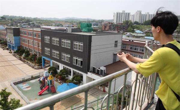 2011년 석면 피해에 의한 '악성중피종' 판정 받은 환경성 석면 피해자 이성진씨