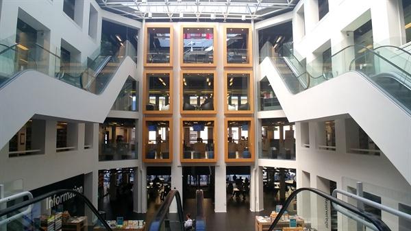 덴마크 코펜하겐 중앙도서관.