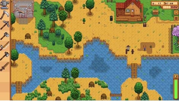 농장 경영 게임이자 이상한 마을 사람 탐구생활인 '스타듀 밸리'(자유도가 높아서 재밌어요 ⓒStardew Valley