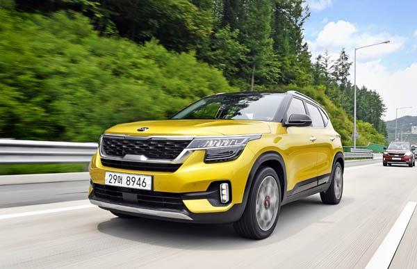 18일 국내시장에 출시된 기아자동차의 소형 스포츠유틸리티차량(SUV) 셀토스.