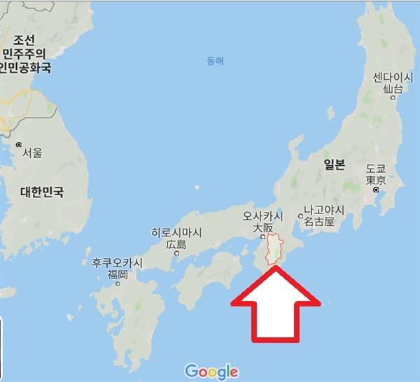 오늘날의 나라현.