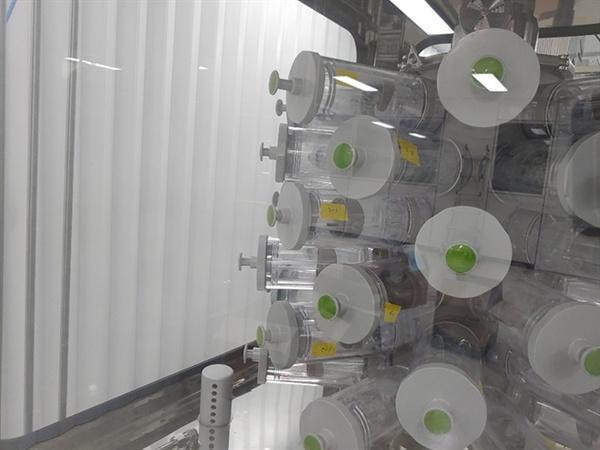 독성 시험용 장비 가운데 하나인 비부 흡입 시험용 장비다.
