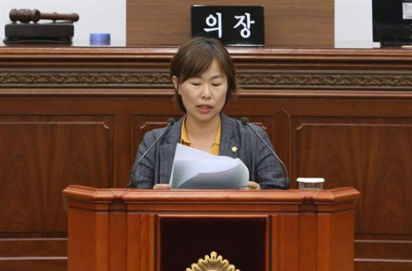최영희 창원시의원.