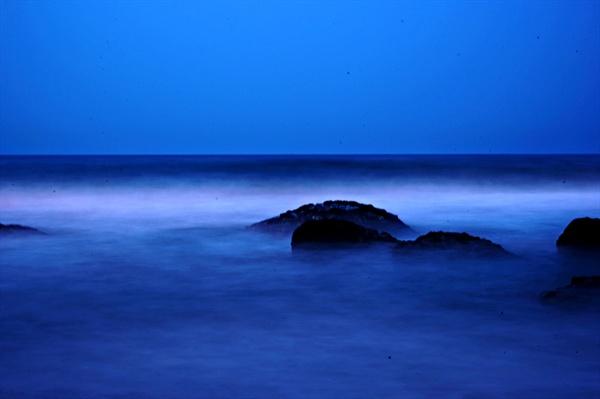 속초 밤바다