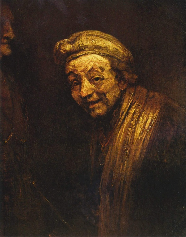웃는 모습의 자화상(제우크시스의 모습을 한 자화상), 1663년경    발라프 리하르츠 미술관