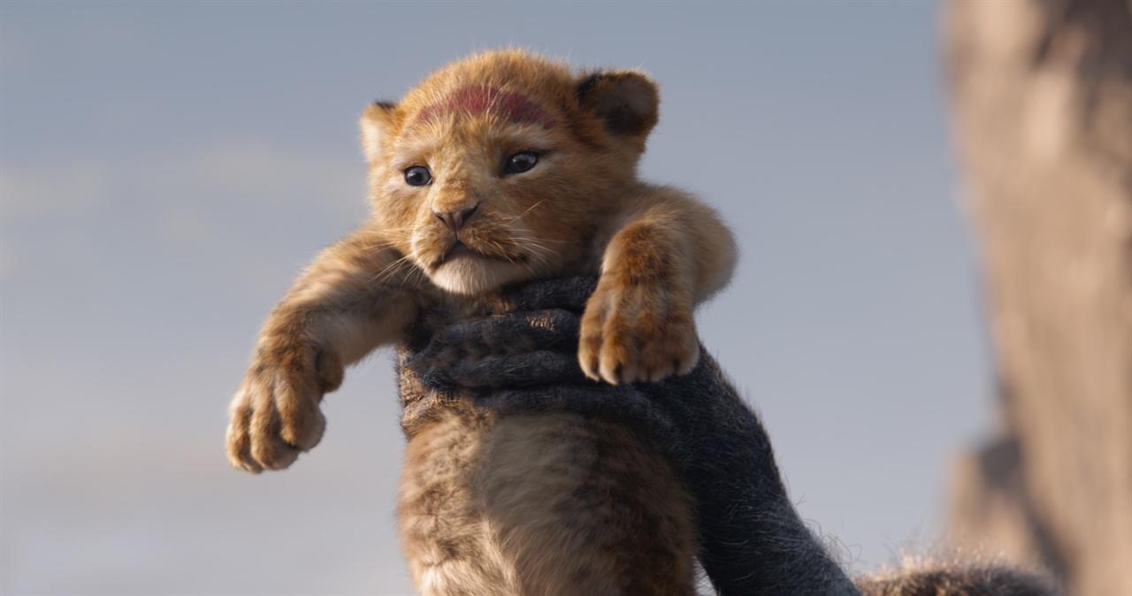 영화 <라이온 킹>의 한 장면