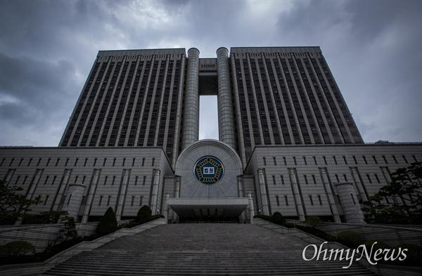 서울 서초구에 있는 서울중앙지방법원의 모습.