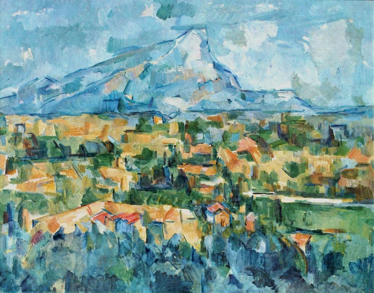 생 빅투아르 산 1902-4년 필라델피아 미술관