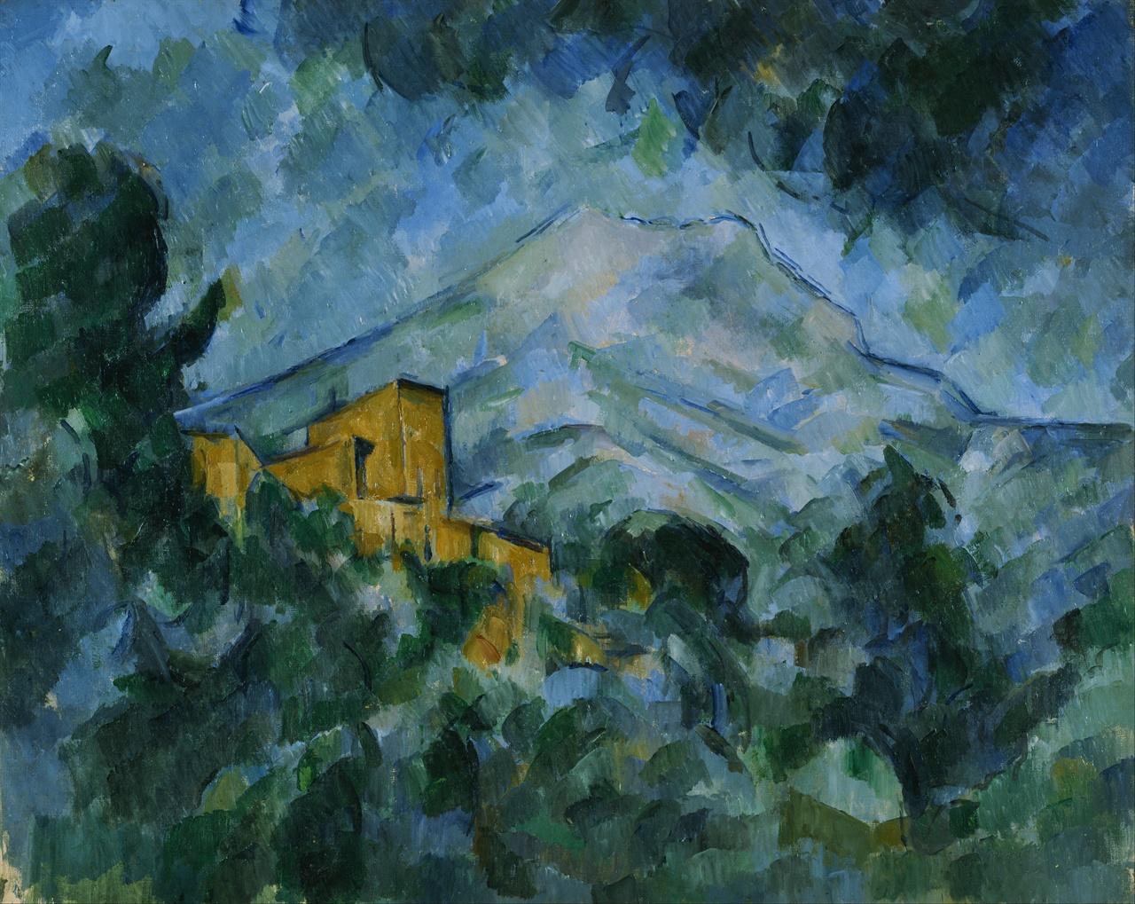 생 빅투아르 산과 샤토 누아 1904-6년 필라델피아 미술관