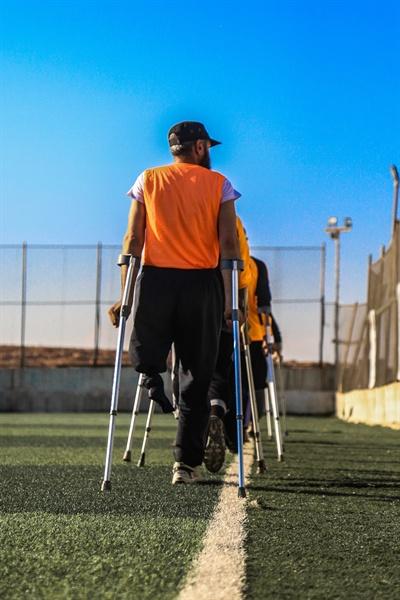 '당연히' 장애인도 운동을 한다.