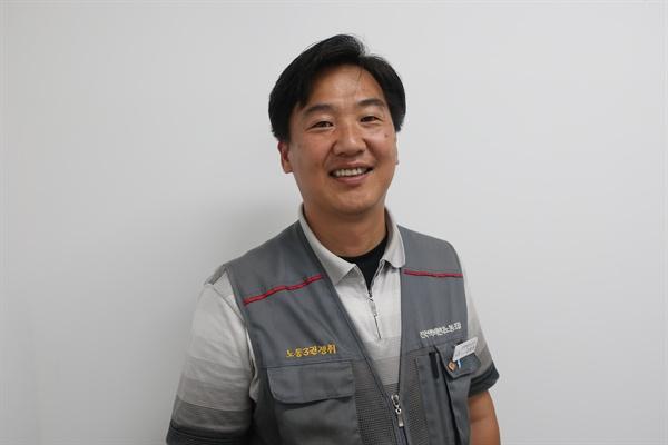 김태완 전국택배연대노동조합 위원장