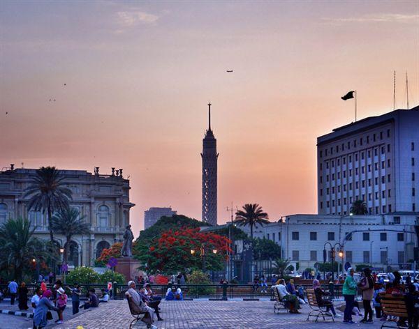 카이로 도심 타흐리르 광장