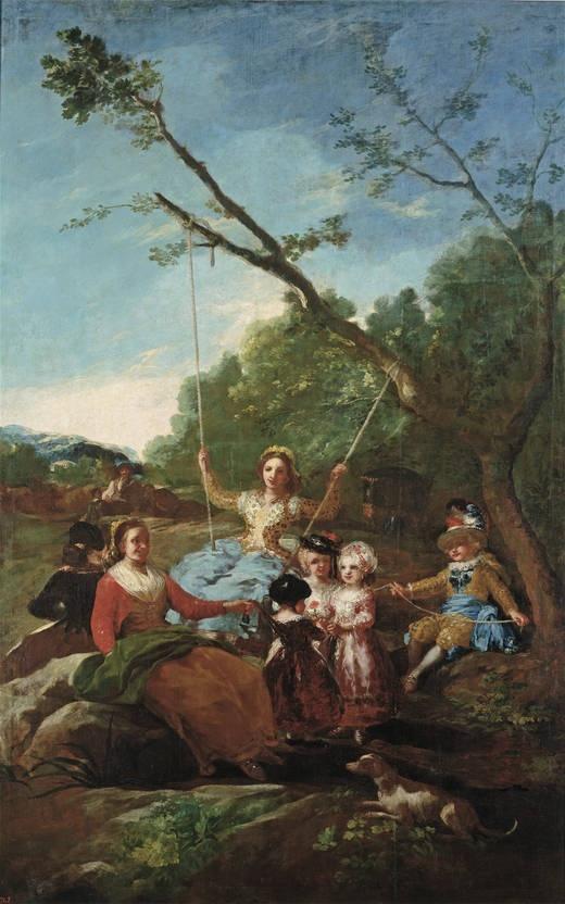 그네 1779 년 프라도 미술관
