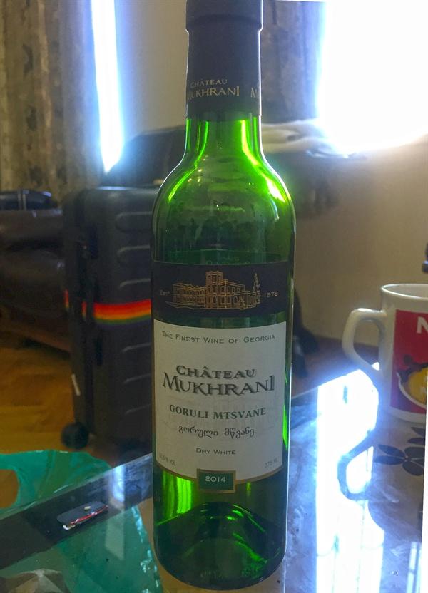 고룰리 므츠바네     카르틀리 지역의 샤토 므흐라니에서 생산되는 고룰리 므츠바네 와인.