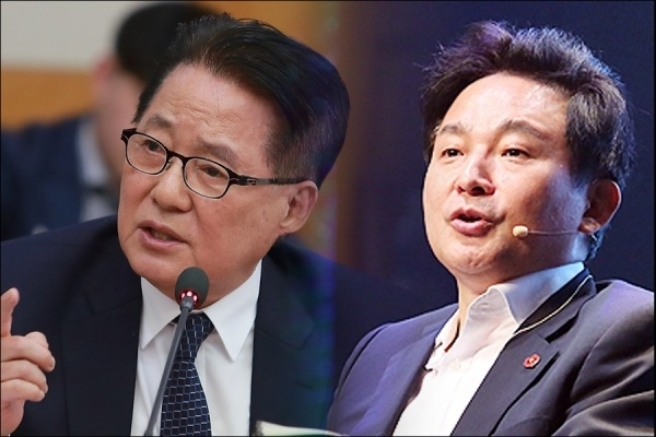 박지원 민주평화당 의원이 1일 김어준의 뉴스공장에 출연해 원희룡 제주지사를 포함한 보수정치인들이 내년 총선을 앞둬 보수신당을 창당할 것이란 전망을 내놓았다(박지원 사진=오마이뉴스 제공)