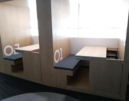 서울생각마루 3층 상상마루에 마련된 1인실 '큐브'
