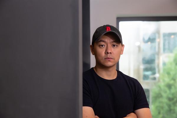 영화 <사자>의 김주환 감독.