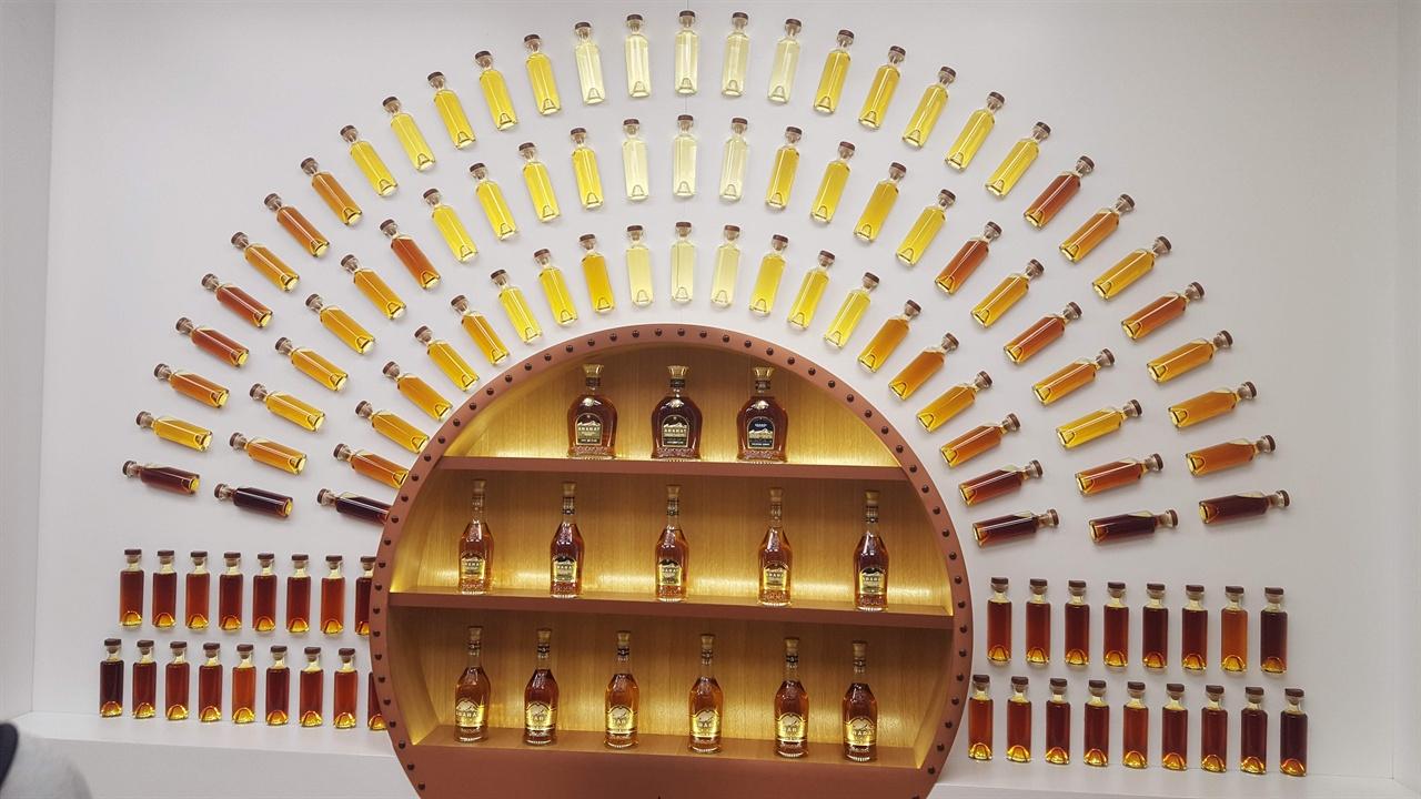 아르메니아 코탹 박물관. 스탈린은 '아라라트 코냑'을 즐겨 마셨다고 한다.