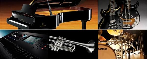 일본 야마하가 제작, 판매하는 다양한 악기들 (usa.yamaha.com)