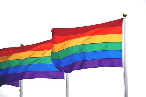 LGBT를 상징하는 무지개기