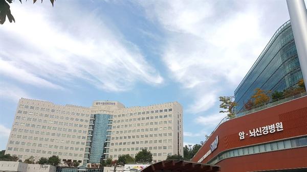 분당서울대학교 병원 전경