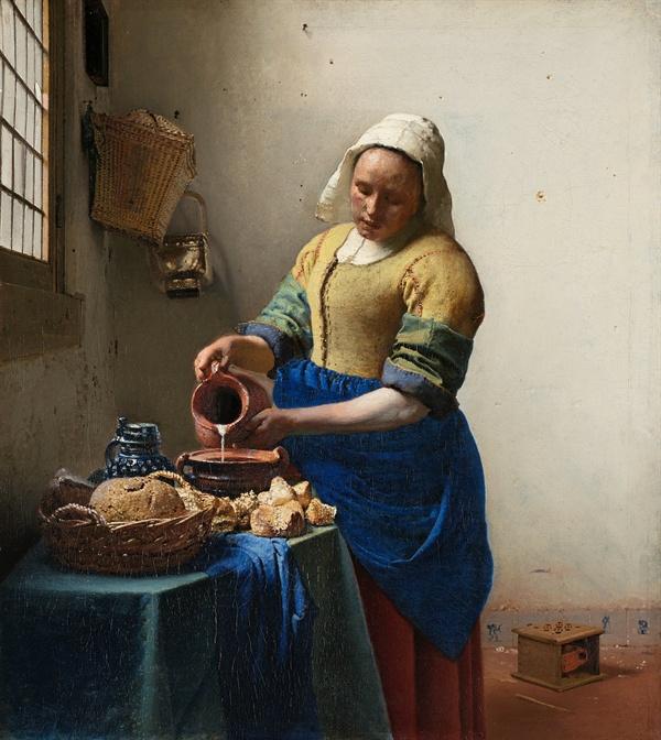 우유를 따르는 여인  <출처: 위키피디아>