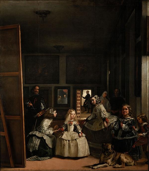 시녀들 1656년경  프라도 미술관