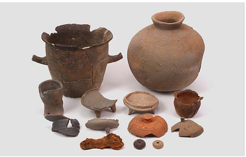 성산리 산성에서 출토된 유물들 (사진제공=금강문화유산연구원)