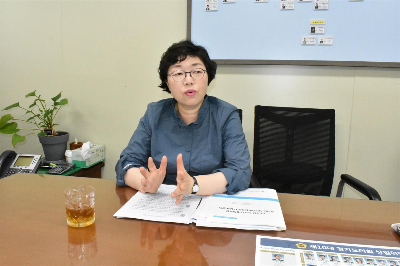 박옥분 경기도의회 여성가족교육협력위원장