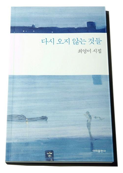 최영미의 여섯 번째 시집 <다시 오지 않는 것들>(이미출판사, 2019)