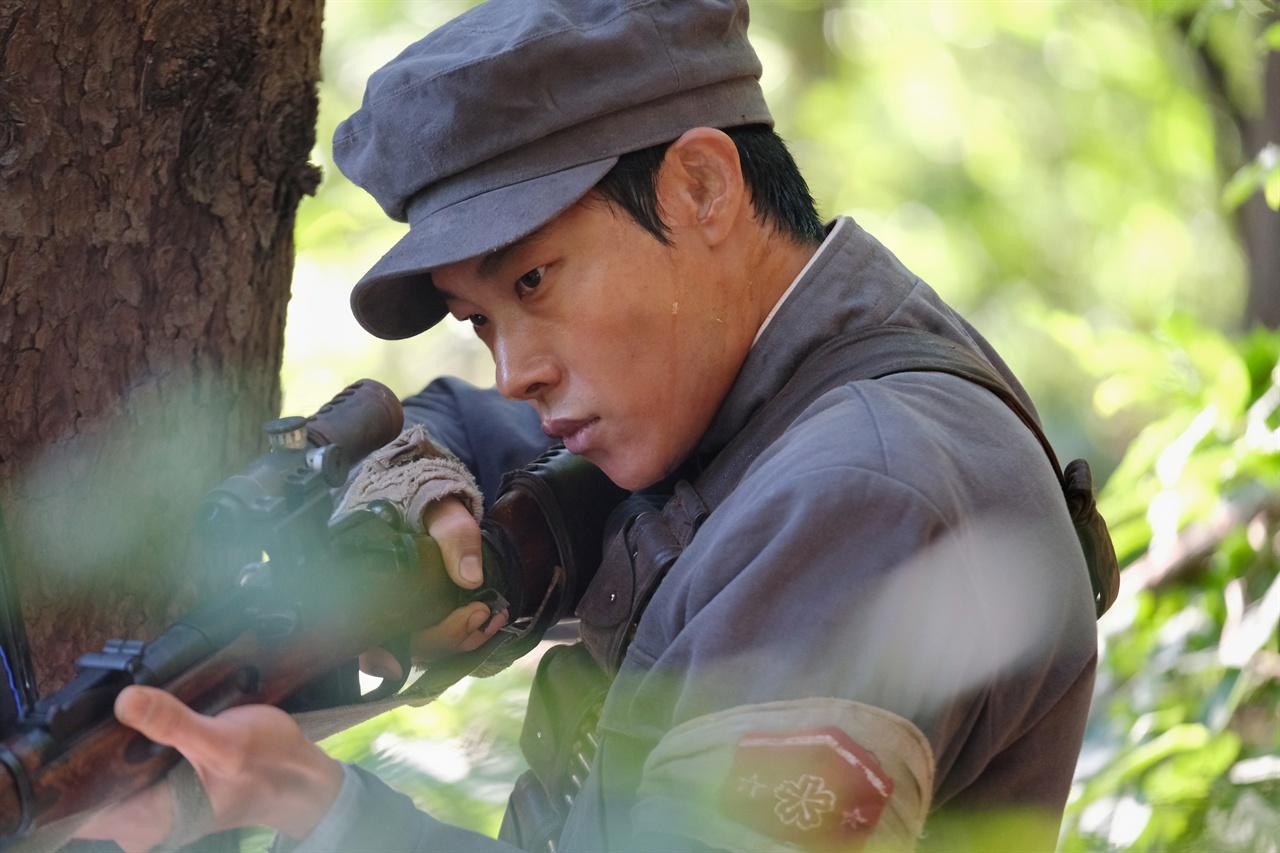 영화 <봉오동 전투> 장면