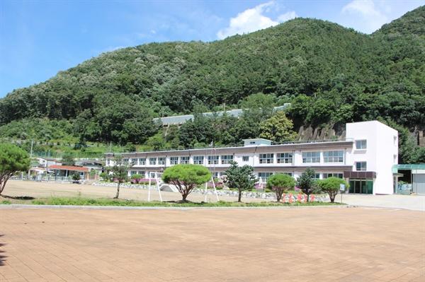 호좌의진 주둔지 장림역의 현재: 대강초등학교