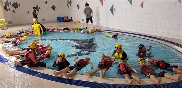생존수영 캠페인.