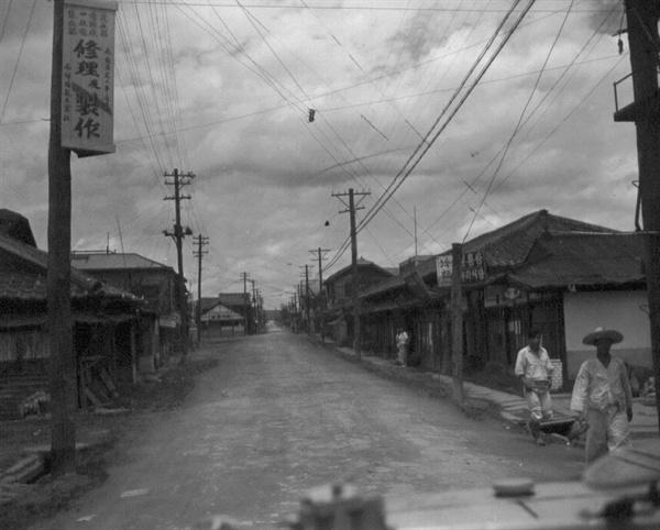 3. 천안 시가지(1950. 7. 7.).