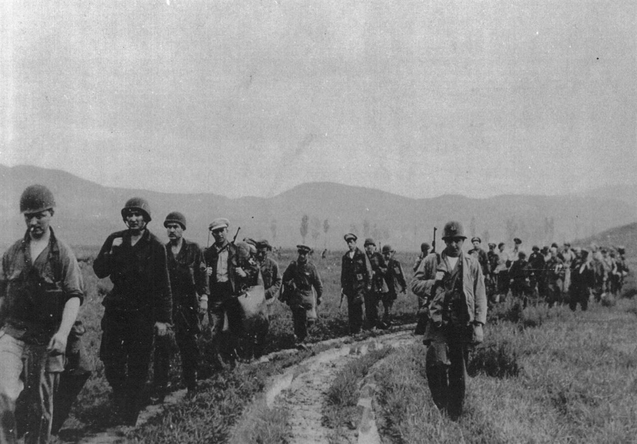 11. 미군들의 후퇴 장면(1950. 7.).
