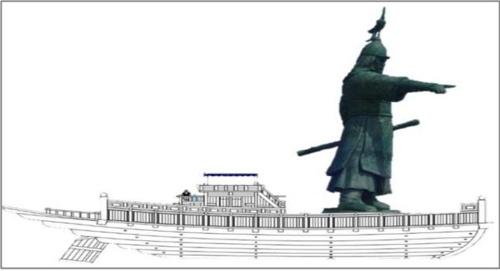 창원 진해 건립 예정인 '이순신 장군 타워' 조감도.