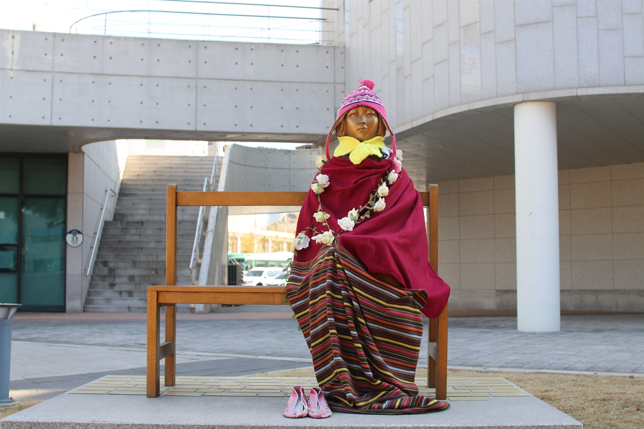 광주 서구 평화의 소녀상