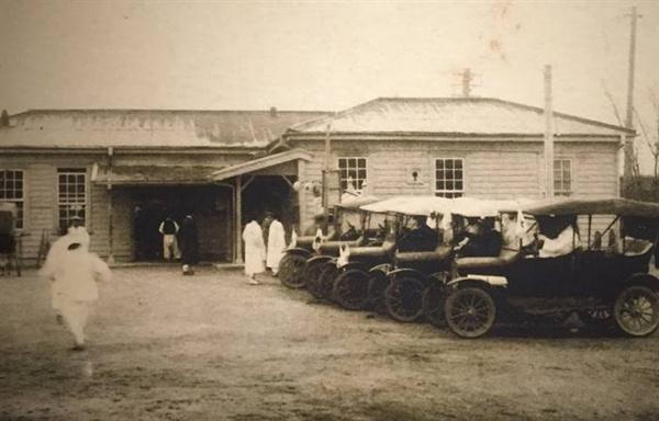 1905년 수원역 모습