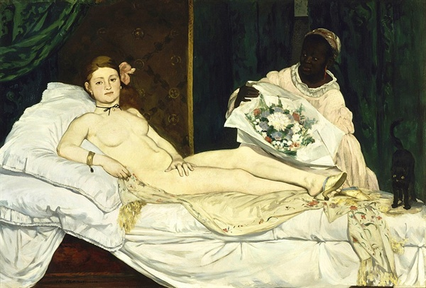 올랭피아 1863년  오르세 미술관